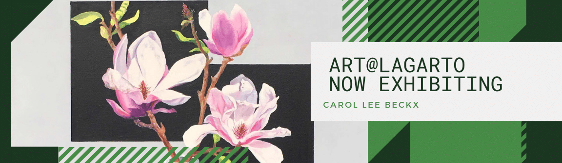 Art@Cafe Lagarto Carol Lee Beckx
