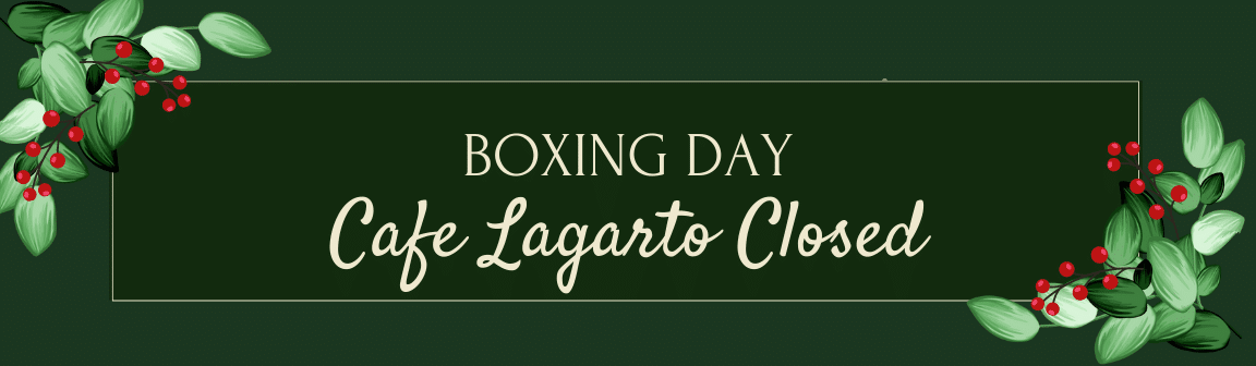 Boxing Day - Closed