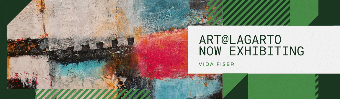 Vida Fiser is exhibiting at Cafe Lagarto, Samford during November - December 2021